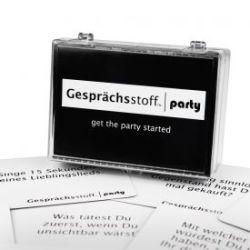 Gesprächsstoff Partyspiel - Party