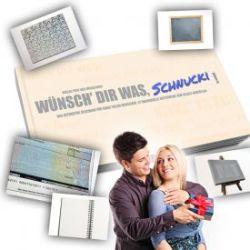 Gutscheinbuch Blanko - Wünsch Dir was