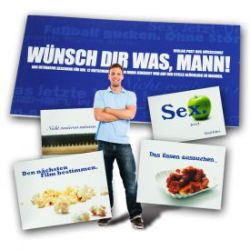 Gutscheinbuch für Männer - Wünsch Dir was
