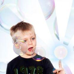 Haltbare Seifenblasen zum Anfassen