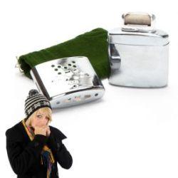 Handwärmer für Feuerzeugbenzin