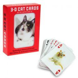 Katzen Kartenspiel mit 3D Wackelbildern