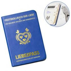 Liebespass Blau