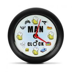 Horloge d'hommes – Horloge murale avec son