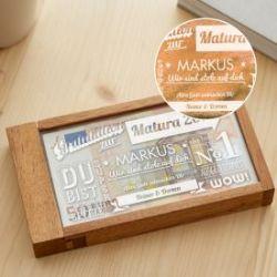 Magische Geldgeschenkbox zur Matura - Collage