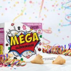 MEGA Glückskekse Geschenkbox für Oma