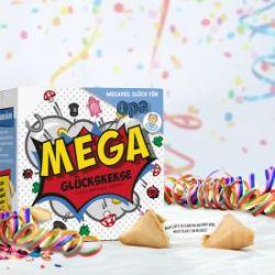 MEGA Glückskekse Geschenkbox für Opa