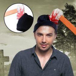 Mütze - Axt im Kopf