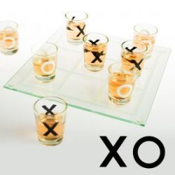Party Trinkspiel - Tic-Tac-Toe