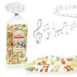 Pasta Musica - 250 g de pâtes colorées