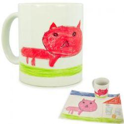 Persönliche Kinderbilder Tasse