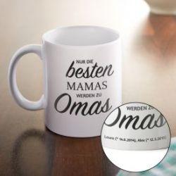 Personalisierte Tasse - Beförderung zur Oma
