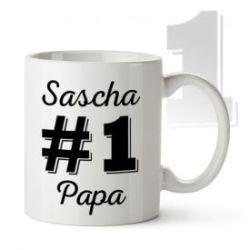 Tasse personnalisée - Papa numéro 1
