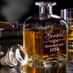 Personalisierte Whiskyflasche
