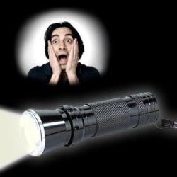 Lampe de poche premium avec puissance LED