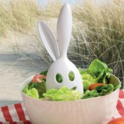 Salatbesteck - Kaninchen Ohren