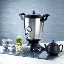 Samowar mit Teekanne
