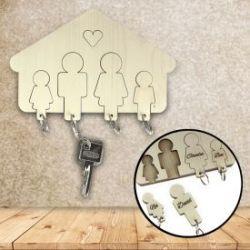 Schlüsselbrett - Familie