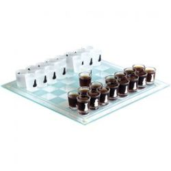 Schnapsgläser Schach - Trinkspiel