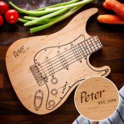 Schneidebrett - Gitarre