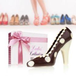 Schokolade - High Heel Schwarz