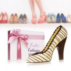 Schokolade - High Heel Weiß