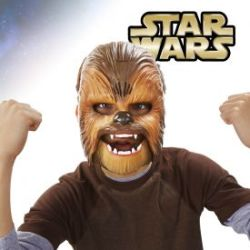 Star Wars Chewbacca Maske mit Soundeffekt