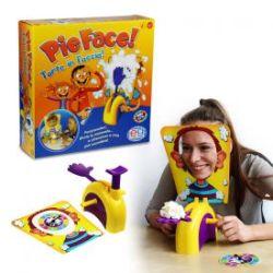 Torte ins Gesicht - Pie Face Partyspiel