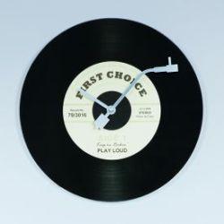 Wanduhr - Schallplatte
