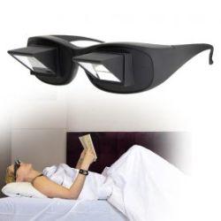 Lunettes périscope pour lire allongé