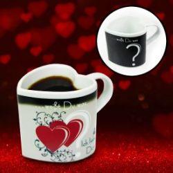 Tasse magique – je t'aime