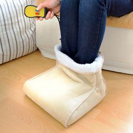 Chauffe-pied avec massage - 2en1