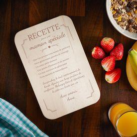 Graviertes Frhstcksbrettchen - Mama Rezept