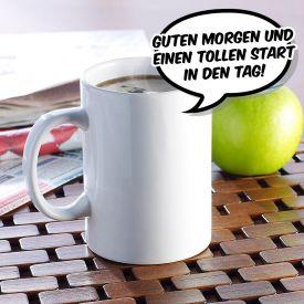 Sprechende Tasse mit Sprachaufzeichnung
