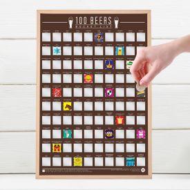 Scratch Map - Beer Bucket List