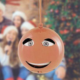 Singende Weihnachtskugel