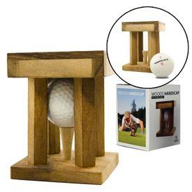 Woods Handicap - Golf Rtsel und Holzknobelspiel