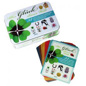 Alles Gl�ck dieser Welt - Box mit 52 Gl�ckskarten