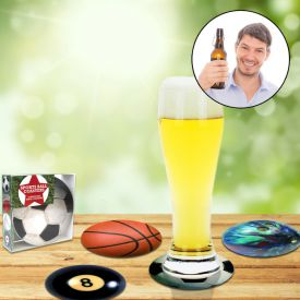 Bierdeckel Sportmotive