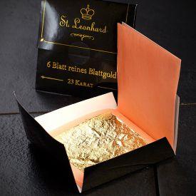 Blattgold Dekoration