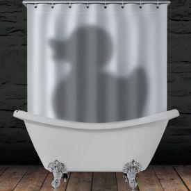 Duschvorhang - Schatten Ente