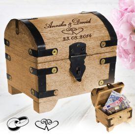 Geld Schatztruhe zur Hochzeit - Kreative Geschenke
