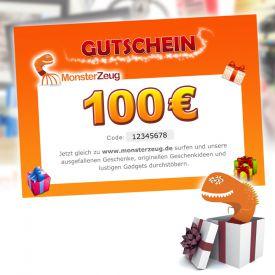 Geschenk Gutschein 100 Euro - Geschenke ab 50 Euro