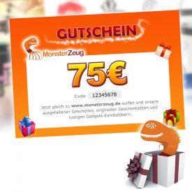 Geschenk Gutschein 75 Euro - Gutscheine