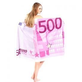Handtuch 500 Euro Schein