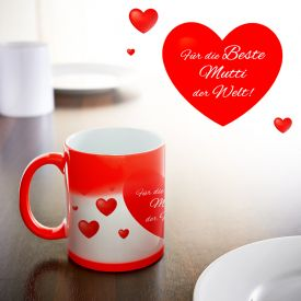Herz Tasse - Beste Mutti - Geschenke für Mama