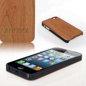 iPhone H�lle aus Echtholz - zwei Farben