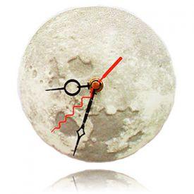 Leuchtende 3D Mond-Uhr