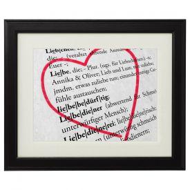 Liebesdefinition - personalisiertes Bild