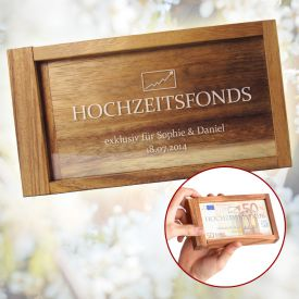 Magische Geldgeschenkbox - Hochzeitsfonds